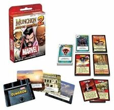 Marvel Munchkin Mystic Mayhem 2 USAopoly Expansion Card Game