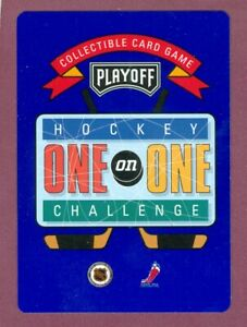 1995-96 PLAYOFF ONE ON ONE NHL HOCKEY CARD GAME 1 TO 159 SEE LIST