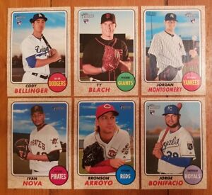 2017 Topps Heritage High Numbers - 193 Baseball Card Lot