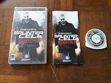 ## Jeux PSP Tom Clancy's Splinter Cell Essentials / PAL