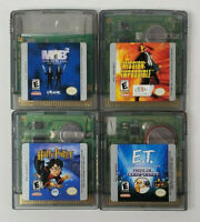 Lot of 4 Game Boy Color Game Cartridges - Harry Potter MIB2 Mission Impossible