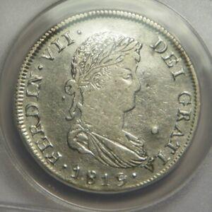 1819 AG * Reales:   ANACS VF30:   Zacatechas Mexico Mint