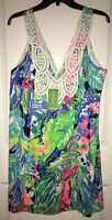 NWT LILLY PULITZER LARGO SHIFT IN MULTI PURRFECT SIZE 14.MSRP $198 Bright Cotton