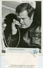 ROBERT CULP ON PAY TELEPHONE SEE THE MAN RUN MOVIE OF THE WEEK 1972 ABC TV PHOTO