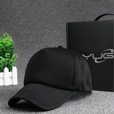 trucker hat Perse alternative Solid Black similar look flannel new