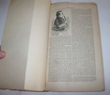 "Copy 1854 Harpers Magazine Article ""The Mormons"" Joseph Smith Salt Lake Young"