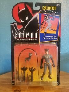 Catwoman Action Figure From Batman The Animated Series: Kenner 1993