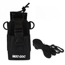 MSC-20C Black Wakie Talkie Radio Pouch Case Holster For Baofeng TYT Kenwood