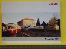 Catalogue MARKLIN Neuheiten 2007 D -- Etat : neuf - Pages 146