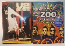 PELICULA DVD MUSICAL PACK U2 (RATTLE AND HUM + ZOO LIVE FROM SYDNEY)