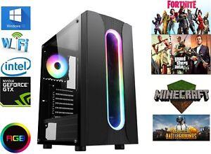 Fast Gaming PC i5 16gb ssd hdd  gt 1030 ddr5 gt 710 ddr5 v01