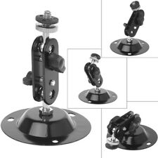 Wall Mount Bracket Monitor Holder Security Rotary CCTV Surveillance Camera Stand