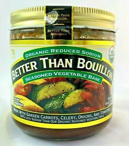 Better Than Bouillon USDA Organic Vegetable Base 16 Oz, Reduced Sodium VEGAN