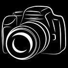"""Sticker Décoration Loisir Photographe """"Appareil Photo"""" (15x18 cm à 30x36 cm)"""