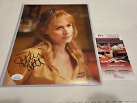 Samantha Smith Autograph 8x10 Photo Supernatural Mary Winchester Signed JSA COA