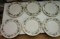 Royal Doulton Larchmont Plates 8 Inch Set of 6  £24.99 (Post Free UK )