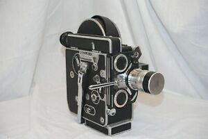 Paillard Bolex H16 REX 3 (RX3), camera 16mm + Berthiot 25mm