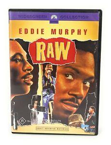 Raw (DVD, 1987) Eddie Murphy Stand Up Comedy Region 4 Free Postage