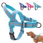 Hundegeschirr Reflektierend Brustgeschirr Anti-Zug Fleece Gepolstert mit Griff