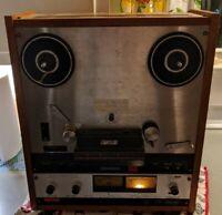 Otari MX-5050 BII2 Reel To Tape Deck Pro Box VTG 2-4 Track pb Head Rare Wood
