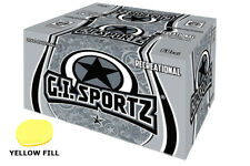 🔥🔥 Gi Sportz Recreate Paintballs 2 x 2000 Rounds - Yellow Fill
