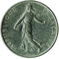 COIN / FRANCE / 1/2 FRANC 1985   #WT264