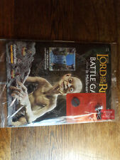 Lord of the Rings Battle Magazine #63 & GOLLUM Deagostini Warhammer