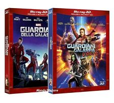 GUARDIANI DELLA GALASSIA 3D Collection Volume 1 e 2 (BLU-RAY 3D+2D) Chris Pratt