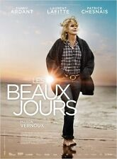 Affiche 120x160cm LES BEAUX JOURS 2013 Fanny Ardant, Laurent Lafitte NEUVE
