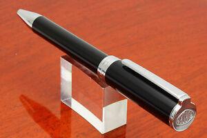 Aurora Fine Pens Italia TU-T31 Black Resin + Chrome Ballpen e221