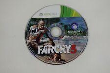 Far Cry 3 (Microsoft Xbox 360, 2012) Disc Only
