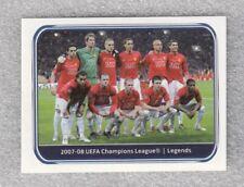 Sticker Manchester utd 2007-08 C RONALDO Champions League UEFA 2010-11 Panini