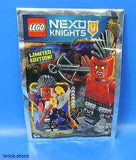 LEGO Nexo Chevaliers 271605 Edition Limitée/Refroidisseur LANCE-FLAMMES/polybag