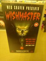 Wishmaster VHS