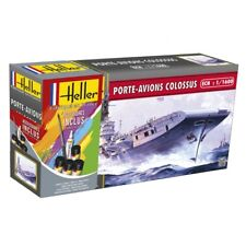 HELLER 1/1600 Porte Avions Colossus Ensemble Cadeau # 49076