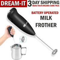 Electric Handheld Milk Frother and Automatic Foam Maker Milk Foamer Mixer Whisk