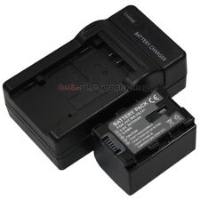Charger + 2670mAh Battery for JVC BN-VG121U BN-VG114U BN-VG138U Everio Camcorder