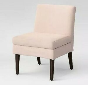 Winnetka Modern Slipper Chair Blush Project 62 Blush Pink -Assembly Required New