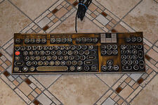 Steampunk Computer Keyboard Dell U473D Multimedia PC Mac Antique Typewriter Keys