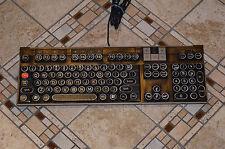 Steampunk Computer Keyboard Dell U473D Multimedia PC Mac Antique Typewriter Keys