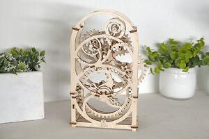 3D Holzpuzzle TIMER mechanischer Baukasten KURZZEITMESSER Modell ORIGINAL UGEARS