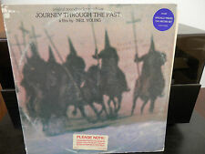 Neil Young-Journey Through the Past WLP Promo 2 LP Set w/ 2 Stickers Excellent