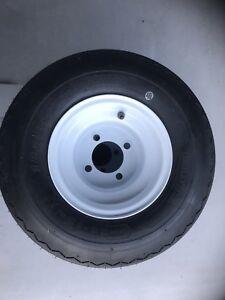 Golf Cart Steel Wheels And Tyres 8 inch to suit Club Car , Ezgo , EMC ,Yamaha .