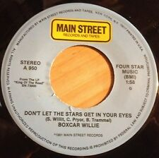 Boxcar Willie 45 Don't Let The Stars Get In Your Eyes / Boxcar Blues