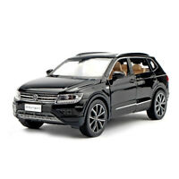 1:32 All New Tiguan L SUV Die Cast Modellauto Spielzeug Model Pull Back Schwarz