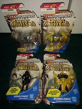 Transformers Prime Legends MISP! LOT Smokescreen Twinstike Airachnid Bumblebee