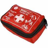 Reise Erste Hilfe Set 32tlg. | Wandern Urlaub Notfallset | Sanibox Verbandtasche