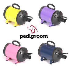 Dog Hair Dryer Pet Blaster Blower by Pedigroom Portable Mobile Grooming Kit