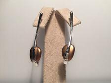 New - BREIL - Pendientes Largos - Long EarRings - Steel Acero