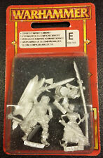 WARHAMMER FANTASY blister UNDEAD CURSED COMPANY COMMAND COMPAGNIA MALEDETTA SEAL